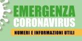 Numeri e informazioni utili nel periodo di emergenza
